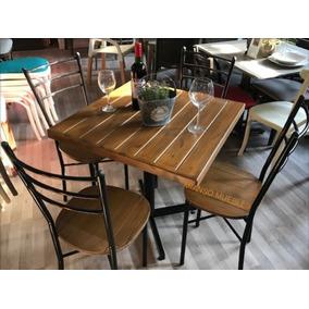 Mesas y sillas para restaurante en mercado libre m xico for Mesas para cafeteria