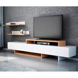 Moderno E Innovador Mueble Tv Con Repisas