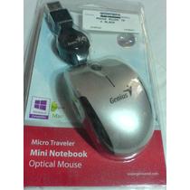 Mini-notebook Optical Mouse-genius-black (micro Traveler)