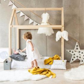Camas Cuna Infantiles Tipo Casita De Transicion Montessori