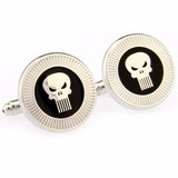 Gemelos The Punisher Castigador Venga Retro Geek Cuff Links
