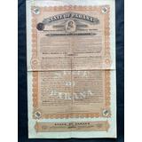 Apólice State Of Paraná Gold Loan Ano 1905