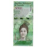 Venezuela Billete 5000 Bolivares 2016 P# Nuevo - Argentvs