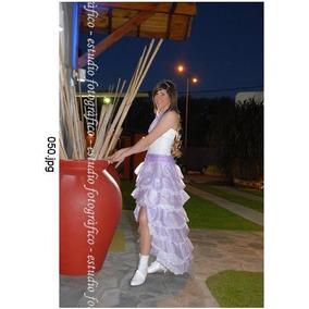 Vestido Fiesta 15 Años Egresado 2 Piezas Excelente Calidad