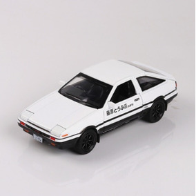 Miniatura Toyota Corolla Trueno Ae86 Initial D Takumi 1:28