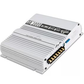 Amplificador Boog Ab3000 3 Canais Estereo E Mono 240w Rms