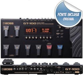 Pedaleira Boss Gt100 Na Cheiro De Música Loja Autorizada !!