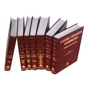 Antigo Testamento Interpretado Champlin 7 Volumes Vs X Vs