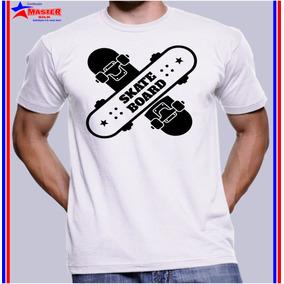 Camisa Camiseta Barata Estampa Radical Skate Board Aventura