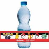 50 Rotulos Garrafinha Agua Mineral Personalizada