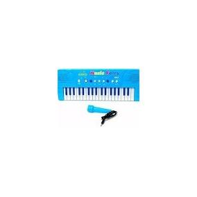 Piano Teclado Musical Niñas Con Microfono Juguete