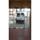Puerta De Blindex Y Sus Costados Aluminio Garage