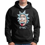Sudadera Rick And Morty Einstein E=mc2