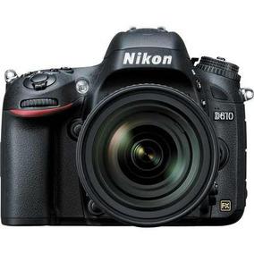 Nikon D610 Dslr Camera Com Lente 24-85mm Nota E Garantia