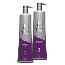 Kit Escova Progressiva Fit Cosmetics 2x1000 Frete Gratis