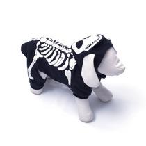 Disfraz Para Perros De Esqueleto Talla Mediana +kota