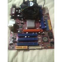 Tarjeta Madre P4m800pro - M7 Con Procesador