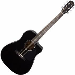 Guitarra Elect/acust Fender Cd60ce C/estuche -12 Pagos S/rec