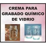 Crema Esmerilado Químico De Vidrio 120 Cc