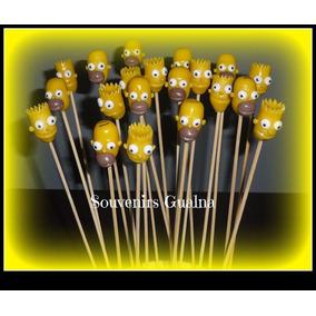 Brochettes Souvenirs Con Aplique Y Gomitas Promo X20
