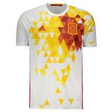 Camisa adidas Espanha Away 2016
