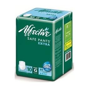 Ropa Interior Safe Pants Talla Grande 60 Pza Affective