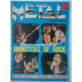 Revista-metal:n:28:guia Do Disco:motorhead,ozzy,def Leppard
