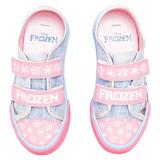 Tênis Infantil Princesa Frozen Disney - Sugar Shoes