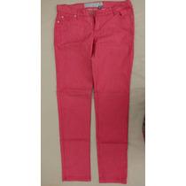 Pantalon Jean Estancias Chiripa Talle 40 Coral