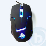 Mouse Optico Alambrico Eagle Warrior G13 Gaming Usb Negro