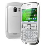 Celular Nokia Asha 302 3g Wifi Teclado Qwerty Câmera 3.2mp