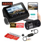 Camera Veicular Automotiva Xiaomi 70mai A800 + 64gb + Cabo