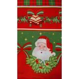 076b71b27cd05 Toalha Mesa Retangular Natal Papai Noel Sinos 1,40x2m Oxford