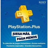 Play Station Plus 14 Días Ps3 Ps4 Ps Vita