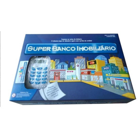 Jogo Banco Imobiliário À Pronta Entrega Máquina De Cartão!