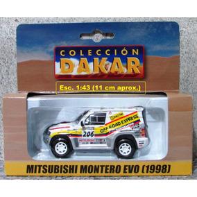 Montero Mitsubishi 1998 Rally Dakar Escala 1:43 El Tiempo