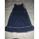 Vestido De Blue Jeans Epk 24 Meses