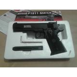 Pistola Swiss Arms P1911, Co2 Cal.4.5mm ¡ Oferta !