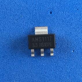 Lote Com 10 Unidades, Regulador De Tensão 3.3v Ams1117
