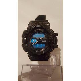 Reloj Casio Gshock Music Control Electro Shock Marmol Negro
