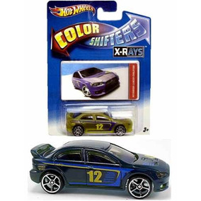 Hot Wheels Mitsubishi Lancer Evolution Cambia Color Shifters