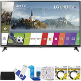 Lg 49uj Super Uhd 4k Hdr Smart Led Tv (modelo 2017) Además