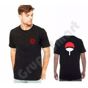 Camiseta, Camisa - Naruto Sharingan Itachi Cla Uchiha