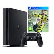 Playstation 4 Slim 500 Gb Com Jogo Fifa 17
