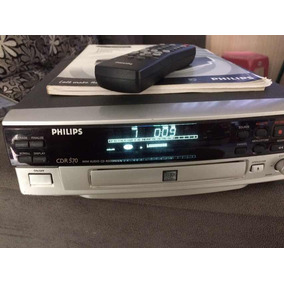 Gravador De Cd Cd-r 570 Philips .