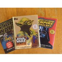 Libros Topps Trading Cards Volumen 1 Y 2 Y Star Wars Galaxy