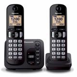 Teléfono Inalambrico Panasonic Kx Tgc222 Duo + Contestador *