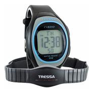 Reloj Pulsómetro Tressa Cardio Monitor Banda Wr 6194 Azul