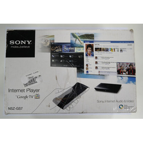 Sony Internet Player Nsz-gs7