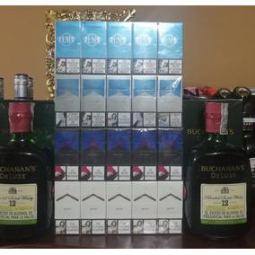 Whisky Buchanans Deluxe 100% Original + Media De Tabacos